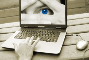 Laptop szemek